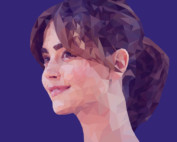 Hannah Blaine Polygon Portrait