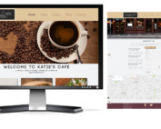 Katie's Cafe Website