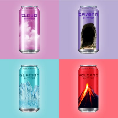 Josef Diaoune Energy Drink Cans